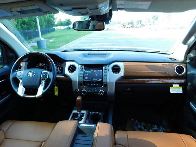 2019 Toyota Tundra 1794 Edition interior