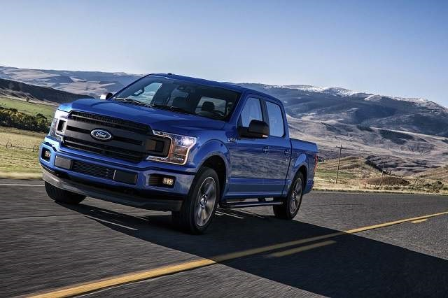 2020 Ford F-150 Lightning front view