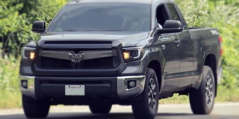2020 Toyota Tundra Spy Shots Next Generation Have Been Spotted