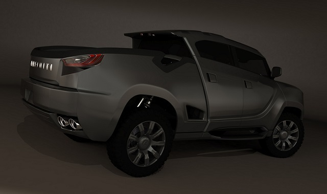 Infiniti Pickup Truck Concept rear view
