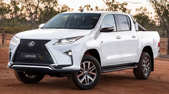 Lexus Luxury Pickup Truck review