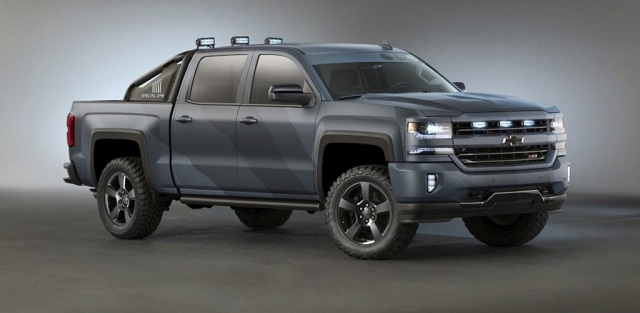 2020 Chevy Avalanche front view
