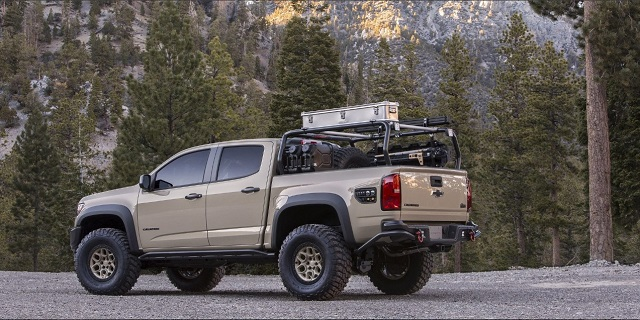 2020 Chevy Colorado rear view