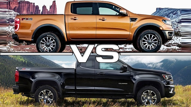 2020 Chevy Colorado vs Ranger