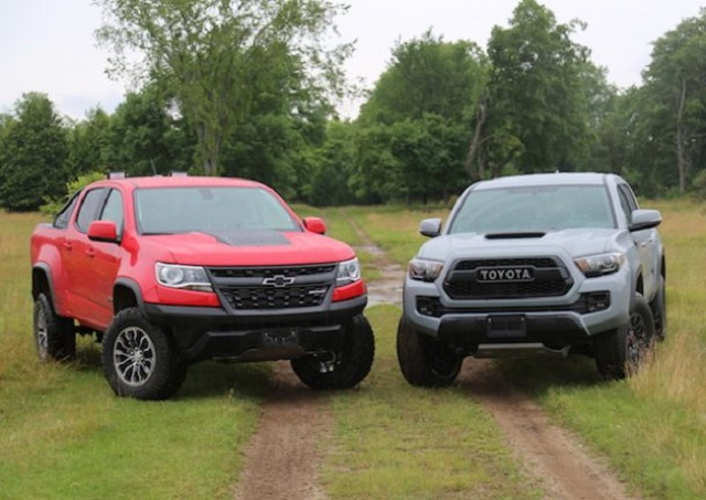 2020 Chevy Colorado vs Tacoma