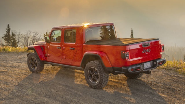 2020 Jeep Gladiator rear view