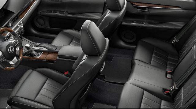 2020 Lexus Pickup Truck interior