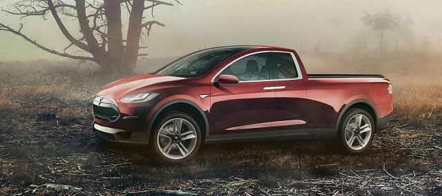 2020 Tesla Model T Electric Pickup Truck