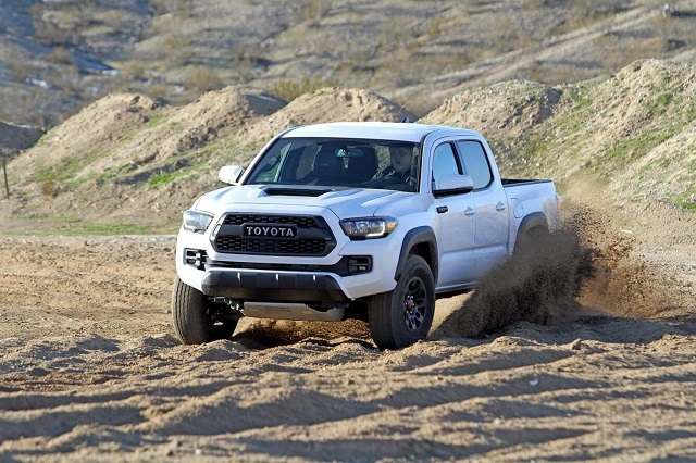 2020 Toyota Tacoma front view