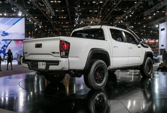 2020 Toyota Tacoma rear view
