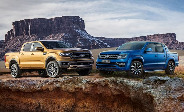 2020 VW Amarok vs Ranger