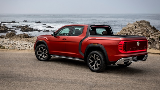 2020 Volkswagen Atlas Pickup Truck Redesign, Specs, And Price >> 2020 Vw Atlas Tanoak Pickup Truck Review 2020 Pickup Trucks