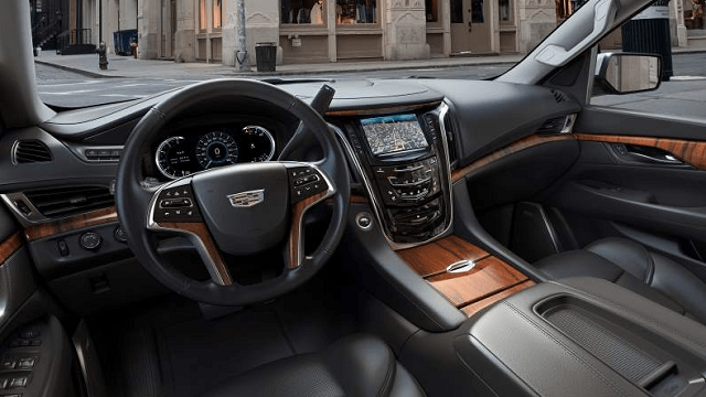 2020 Cadillac Escalade EXT interior