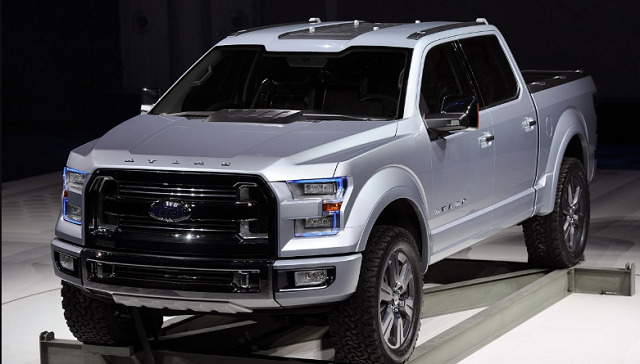 2020 Ford Atlas front view