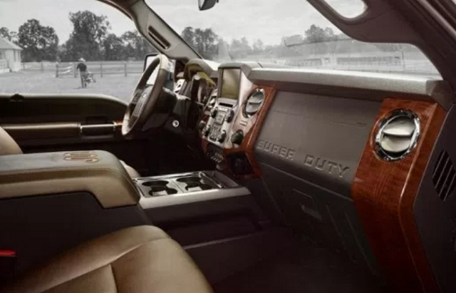 2020 Ford F-350 interior
