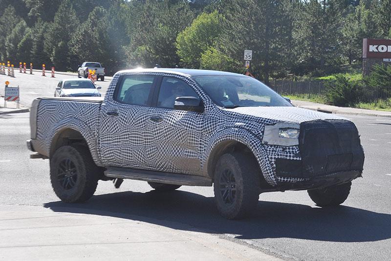 2020 Ford Ranger spy shots