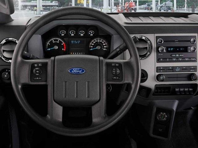 2019 Ford F-650 interior