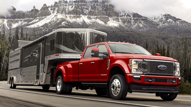 2020 Ford F-250 Diesel towing capacity