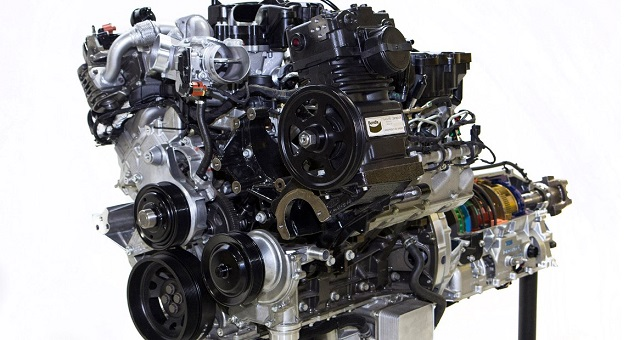 2020 Ford F-750 Engine