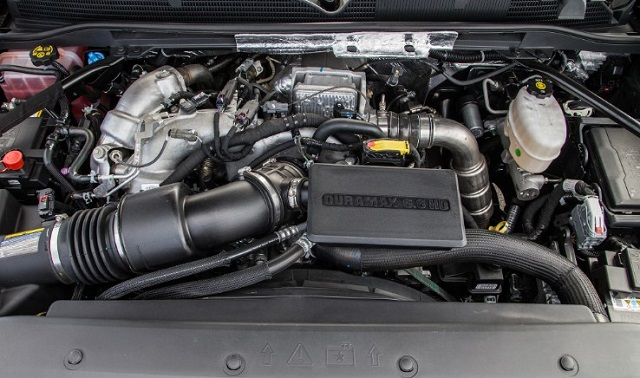 2020 GMC Sierra 1500 engine