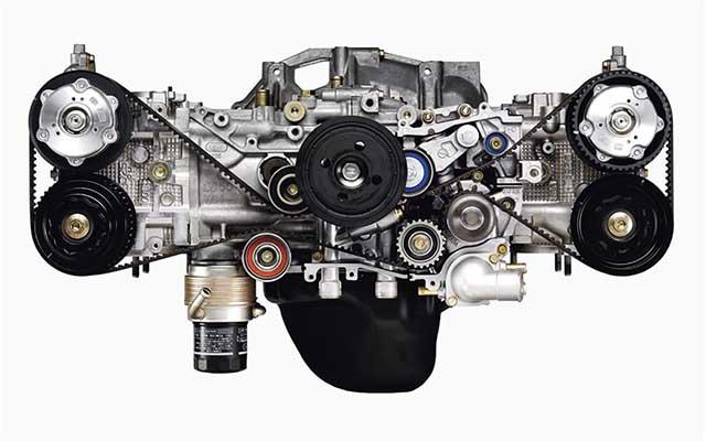 2020 Subaru Baja boxer engine