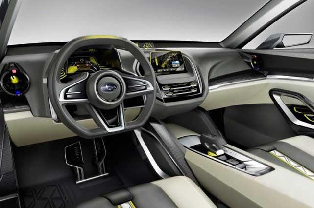 2020 Subaru Baja interior