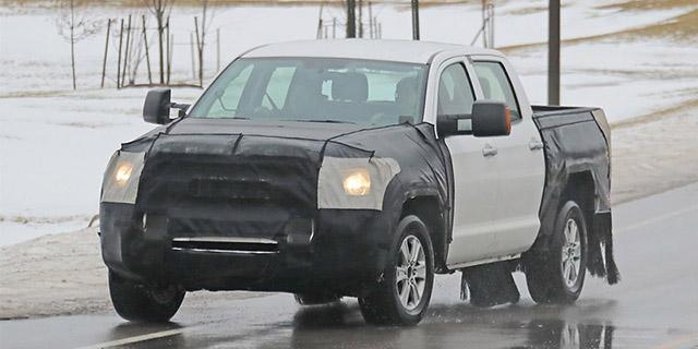 2020 Toyota Tundra spied