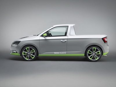 Skoda Pickup Truck Concept side view