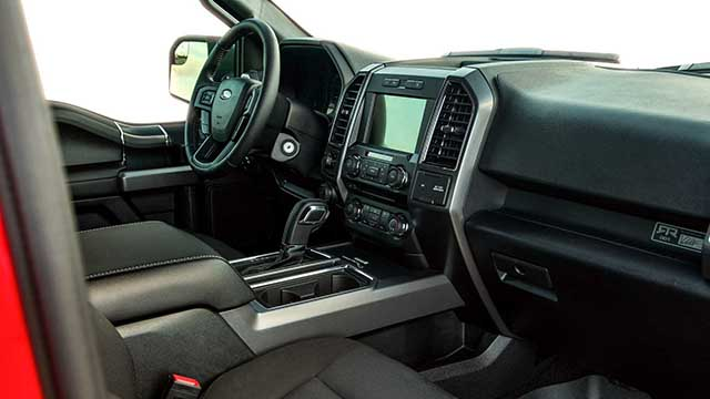 2019 Ford F-150 RTR interior