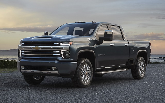 2020 Chevrolet Silverado HD High Country Front