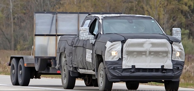 2020 Chevy Silverado 1500 HD towing capacity