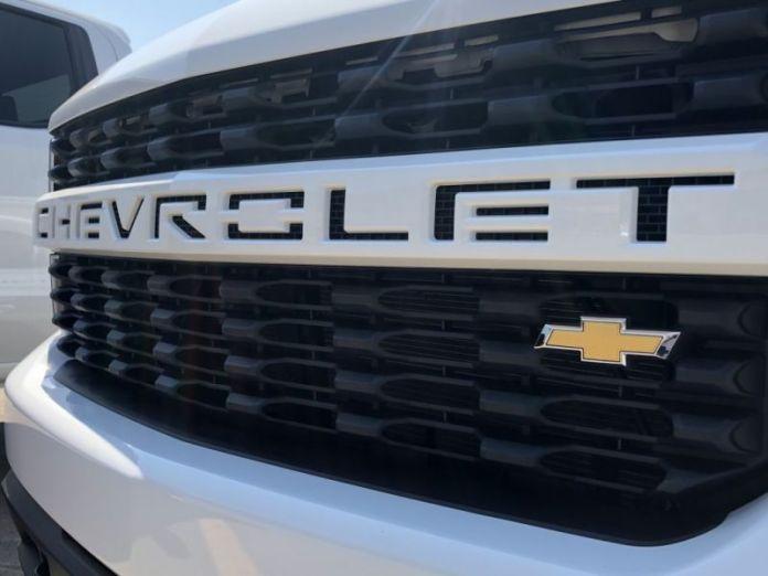 2020 Chevy Silverado 1500 front view