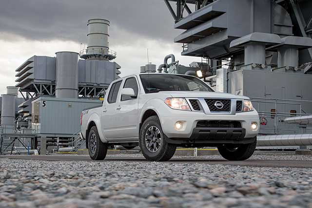 2021 Nissan Frontier new V6 engine