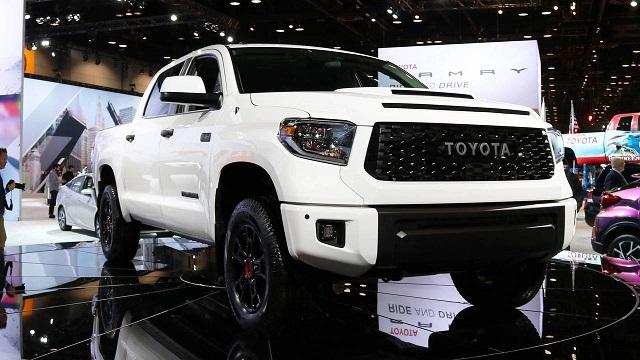 2020 Tundra TRD Pro front