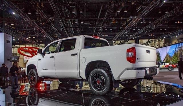2020 Tundra TRD Pro rear view