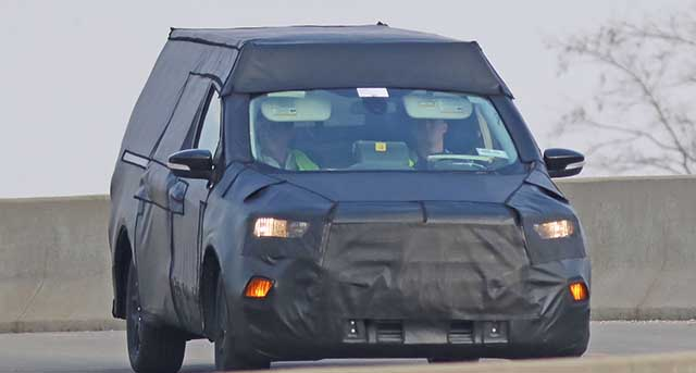 2021 ford courier spied