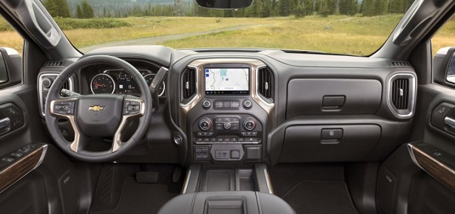 2020 Chevy Silverado Interior