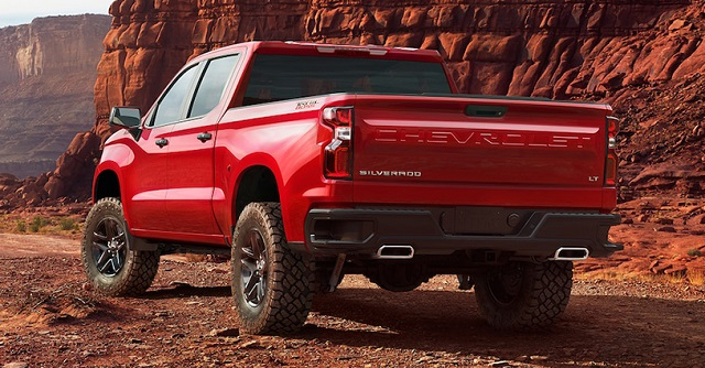 2020 Chevy Silverado Z71 Rear