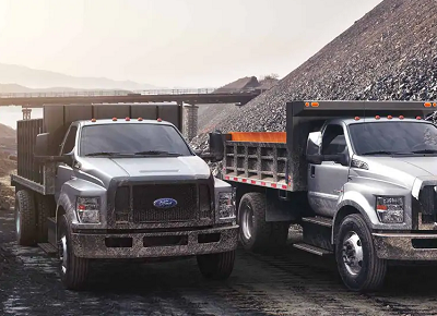 2021 Ford F-650 and F-750 medium duty