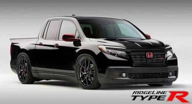 2021 Honda Ridgeline type r