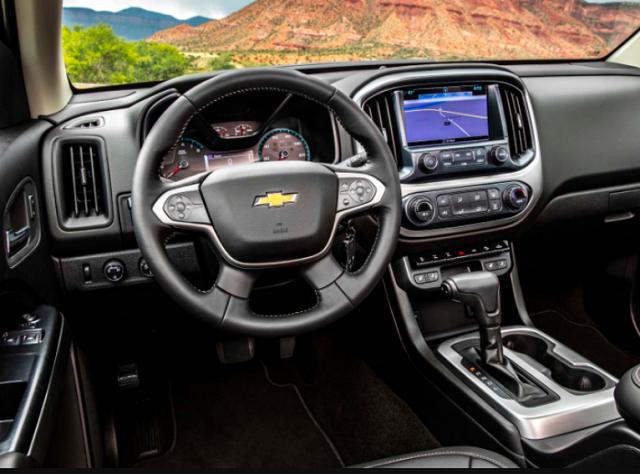 Chevy Colorado Interior