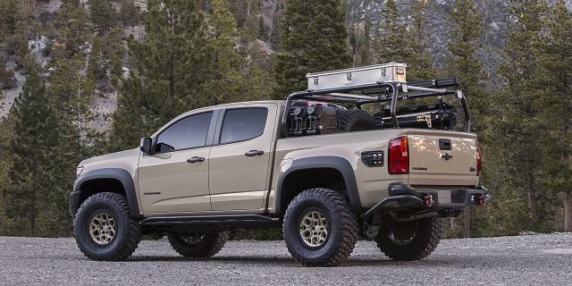 Chevy Colorado rear