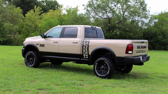 Ram 2500 Power Wagon Mojave Sand