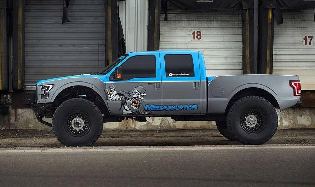 2020 Ford F-350 Mega Raptor side