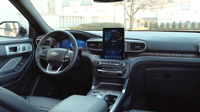 2020 Ford Ranchero interior