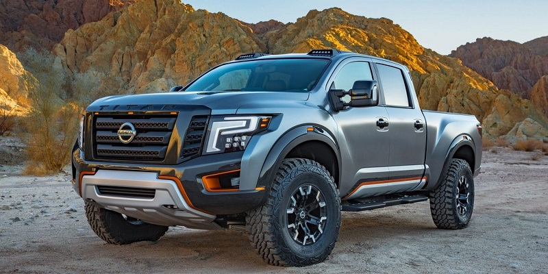 nissan titan warrior trucks pickup 2021 release