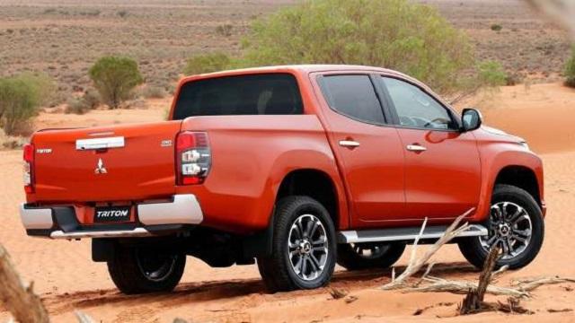2021 Mitsubishi Triton rear view