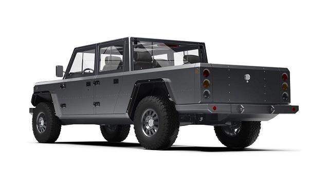 Bollinger B2 rear