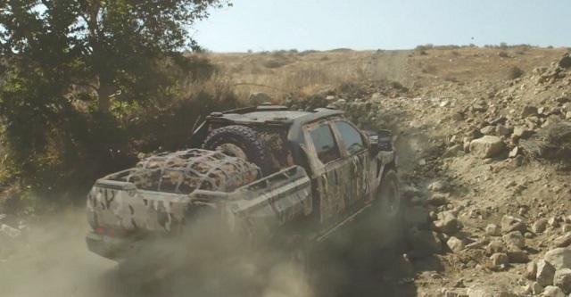 2020 Chevy Silverado ZH2 rear