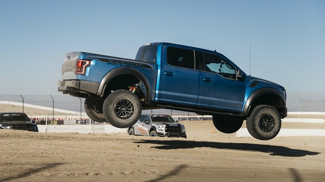 Ford F-150 Raptor rear